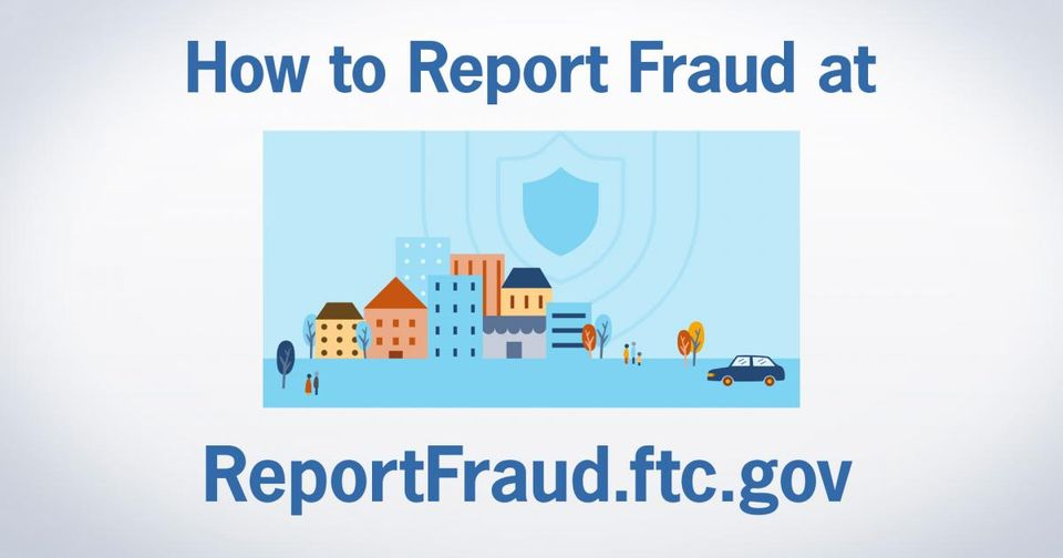 How to report fraud